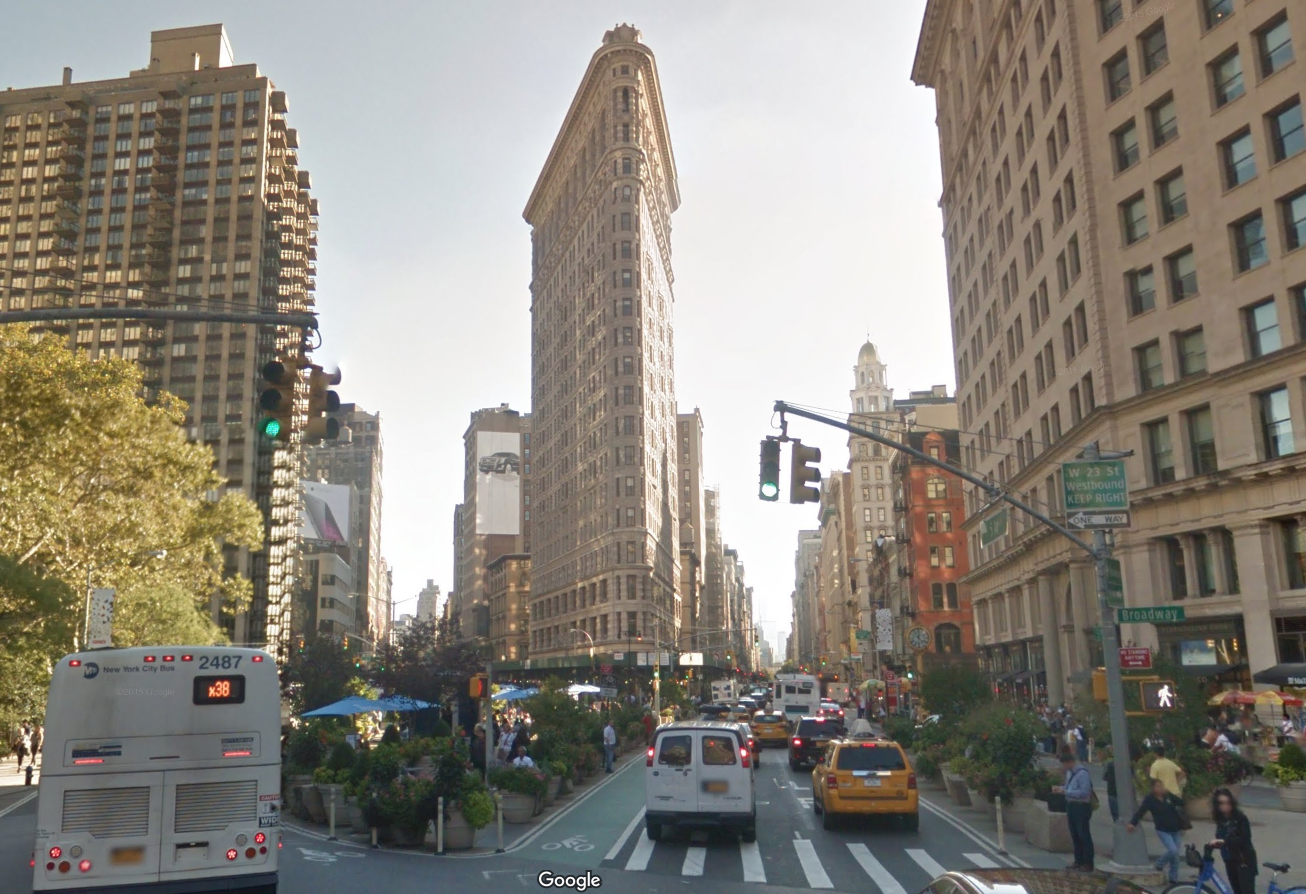 Throwback Thursday The Flatiron Building in New York SkyriseCities