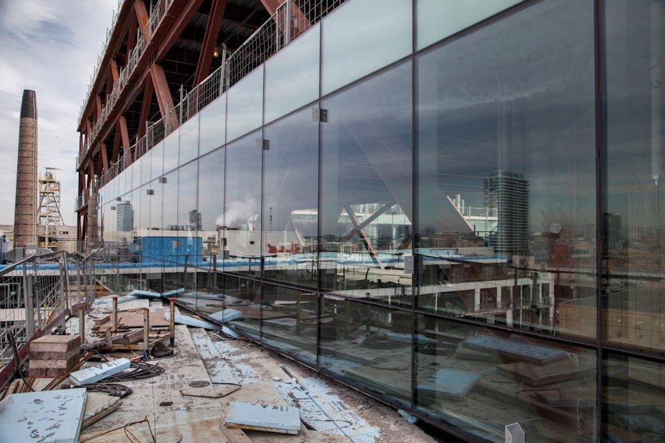 Curtain Wall System Being Installed On A Toronto Construction Project,  Image By Jack Landau