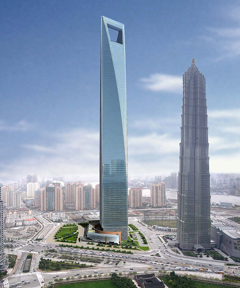 Flash Forward Friday: Shanghai World Financial Center ...