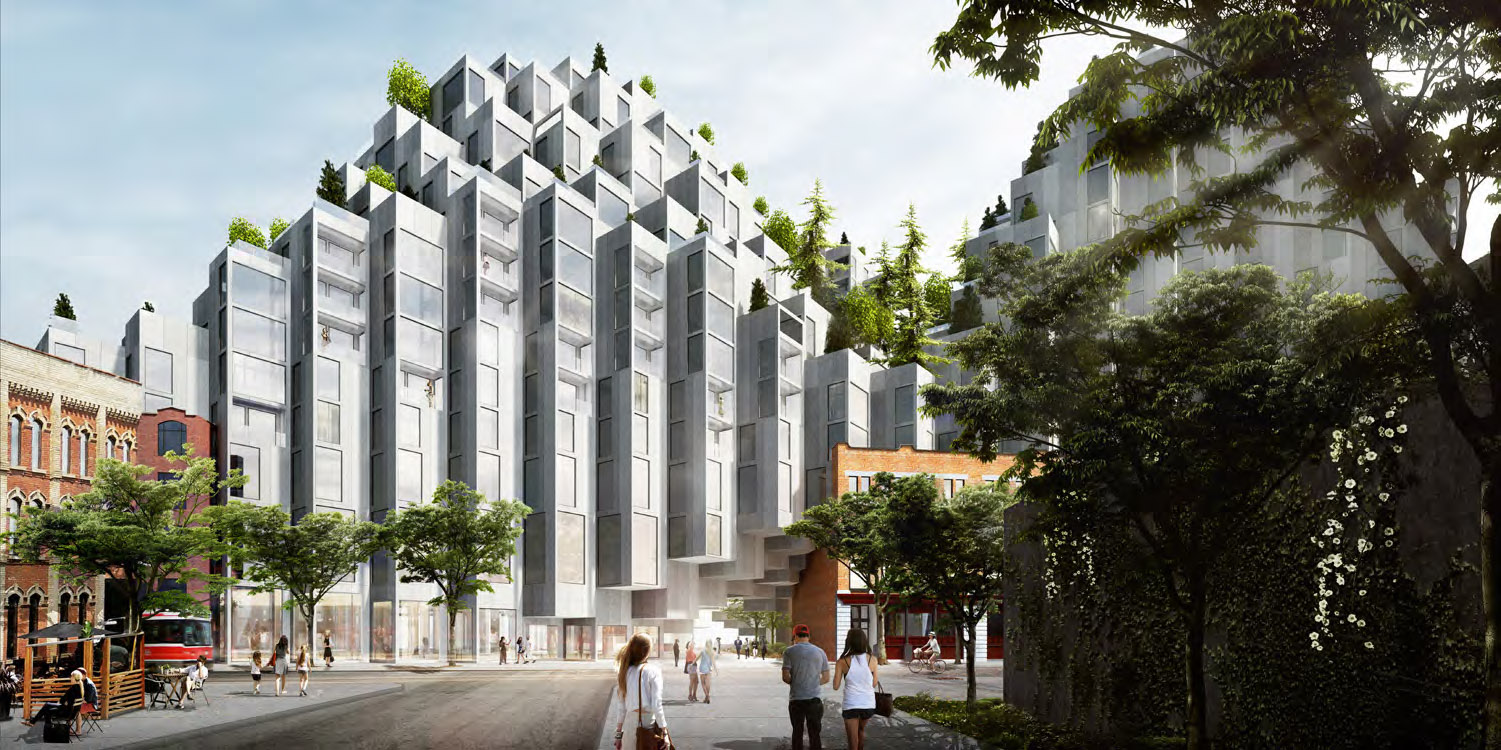 Design Review Panel Digs Into BIG's Mountain on King West | UrbanToronto