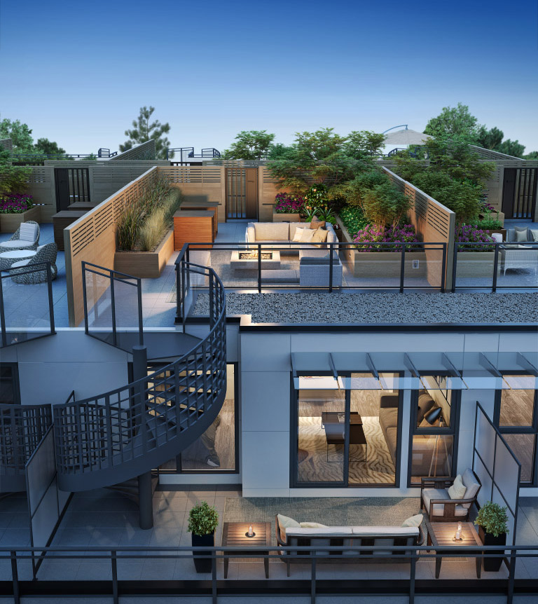 Esams Condo Interior Design Vancouver: Midtown Modern