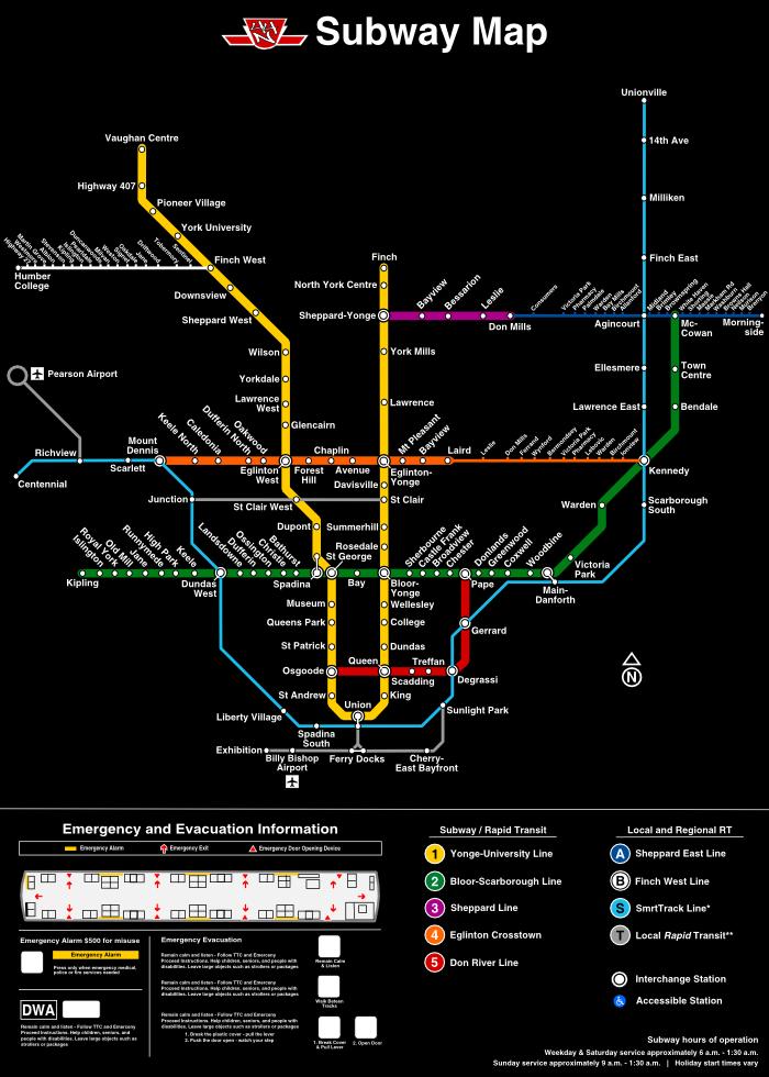 Ttc Subway Map Future.Transit Fantasy Maps Page 268 Skyrisecalgary