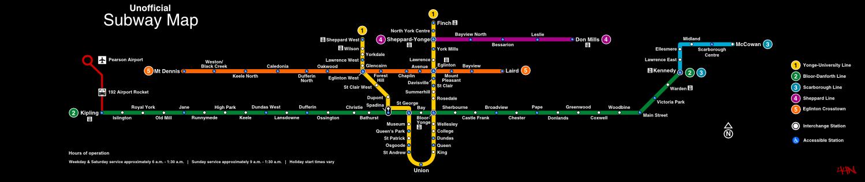Ttc Subway Map Green Line.Ttc Cartography Signage And Wayfinding Page 7 Skyrisecalgary