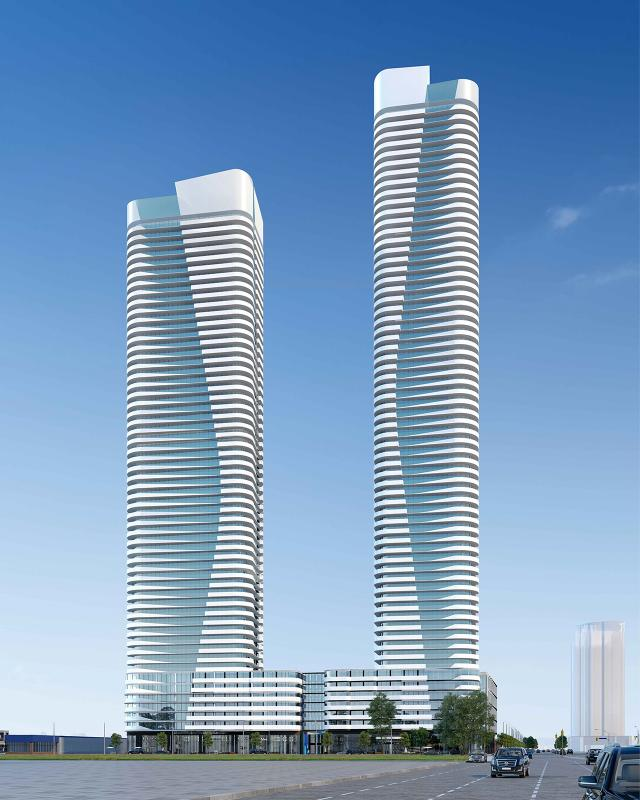 7028 Yonge Street, Vaughan, designed by IBI Group for Gupta Group