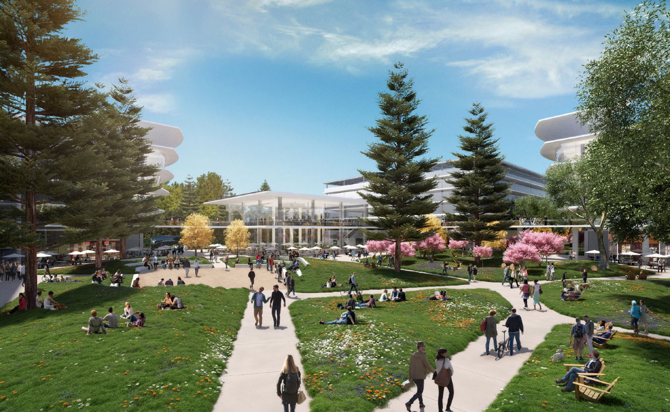 Apple Planning Another Spaceship Campus in the Silicon