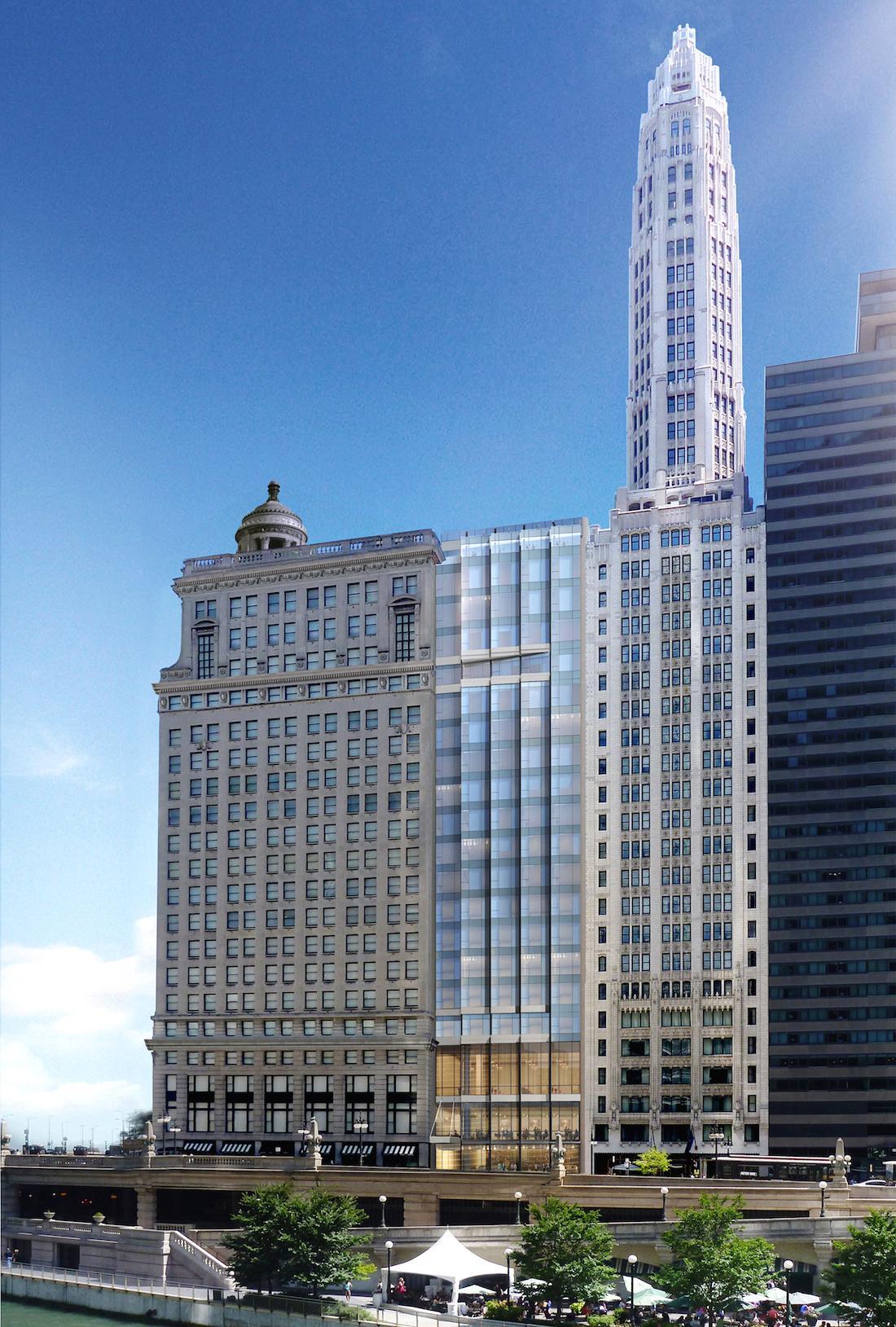 LondonHouse Hotel, Chicago, USA, Oxford Capital Group, Goettsch Partners