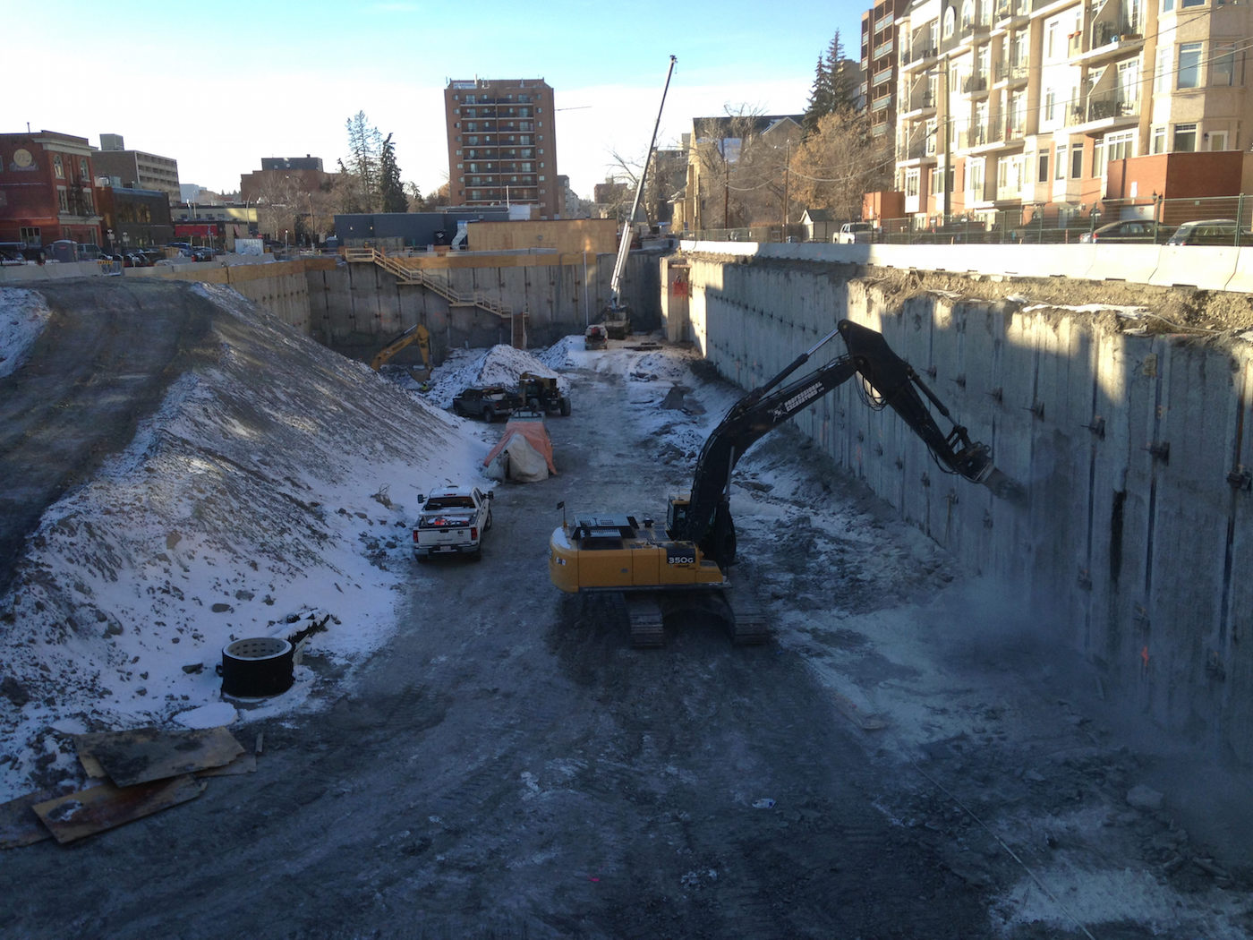 Excavation Wrapping Up at Calgary's The Royal | SkyriseCities