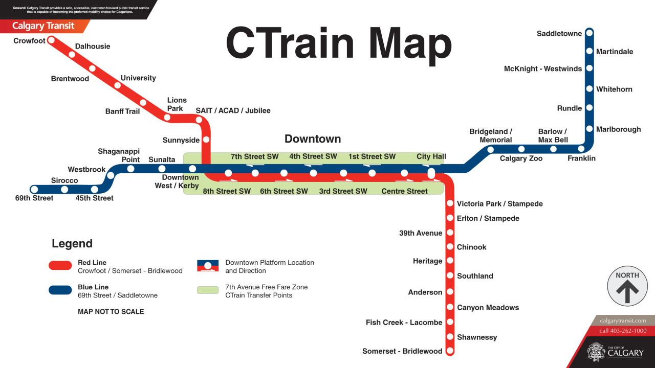 Lrt Map Calgary Lrt Map Calgary | compressportnederland Lrt Map Calgary