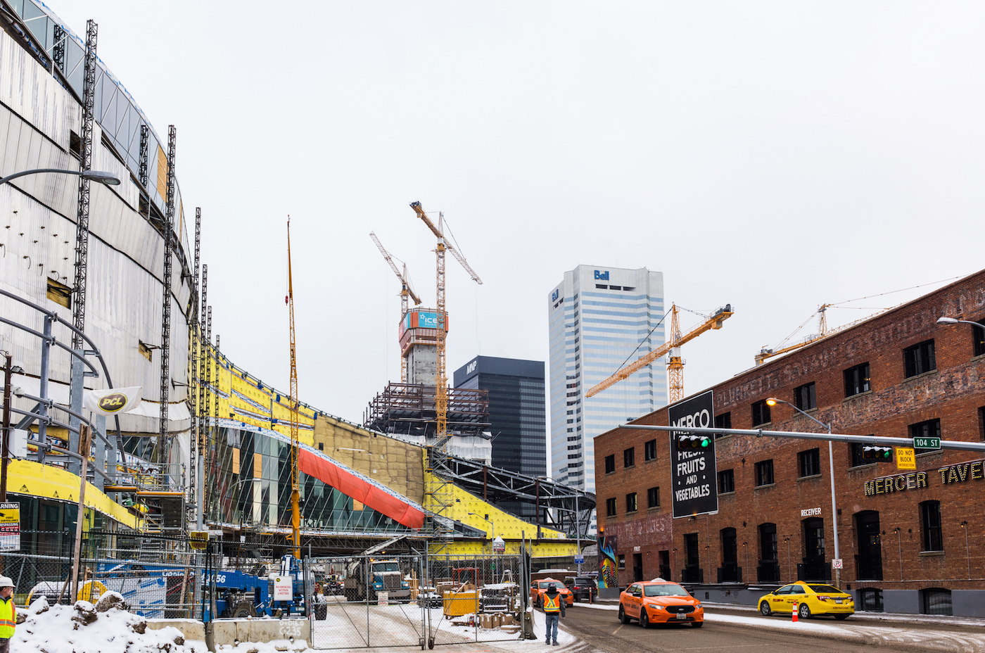 Stainless Steel Skin Appears On Rogers Place Skyrisecities