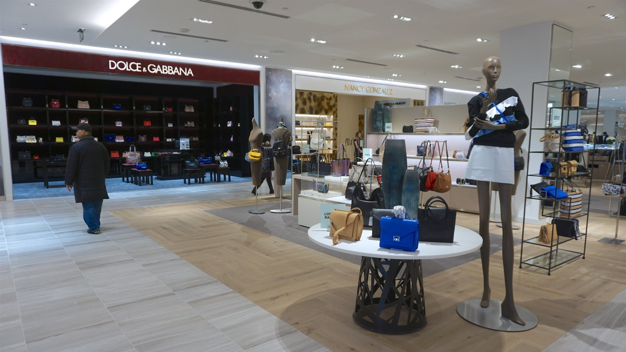 b7507d1a33 Dolce & Gabbana display and boutique, Saks Fifth Avenue, image by Craig  White