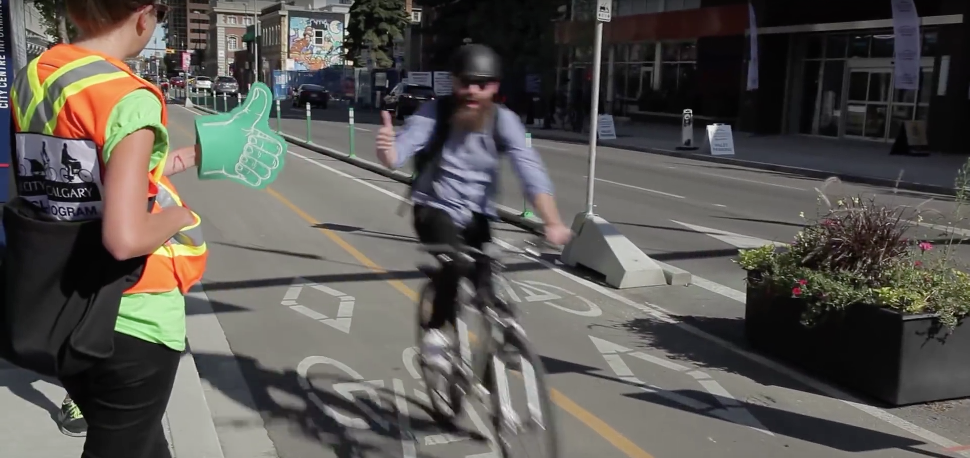 Calgary Planner Discusses Citys Budding Bike Network SkyriseCities