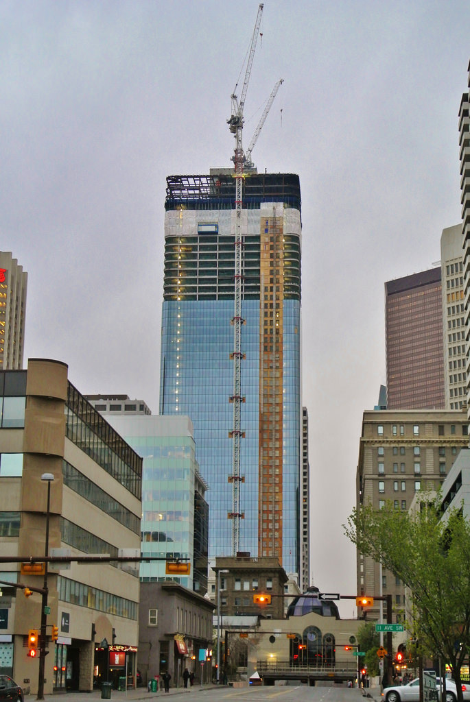 The 5 Tallest Buildings Under Construction In Calgary Skyrisecities