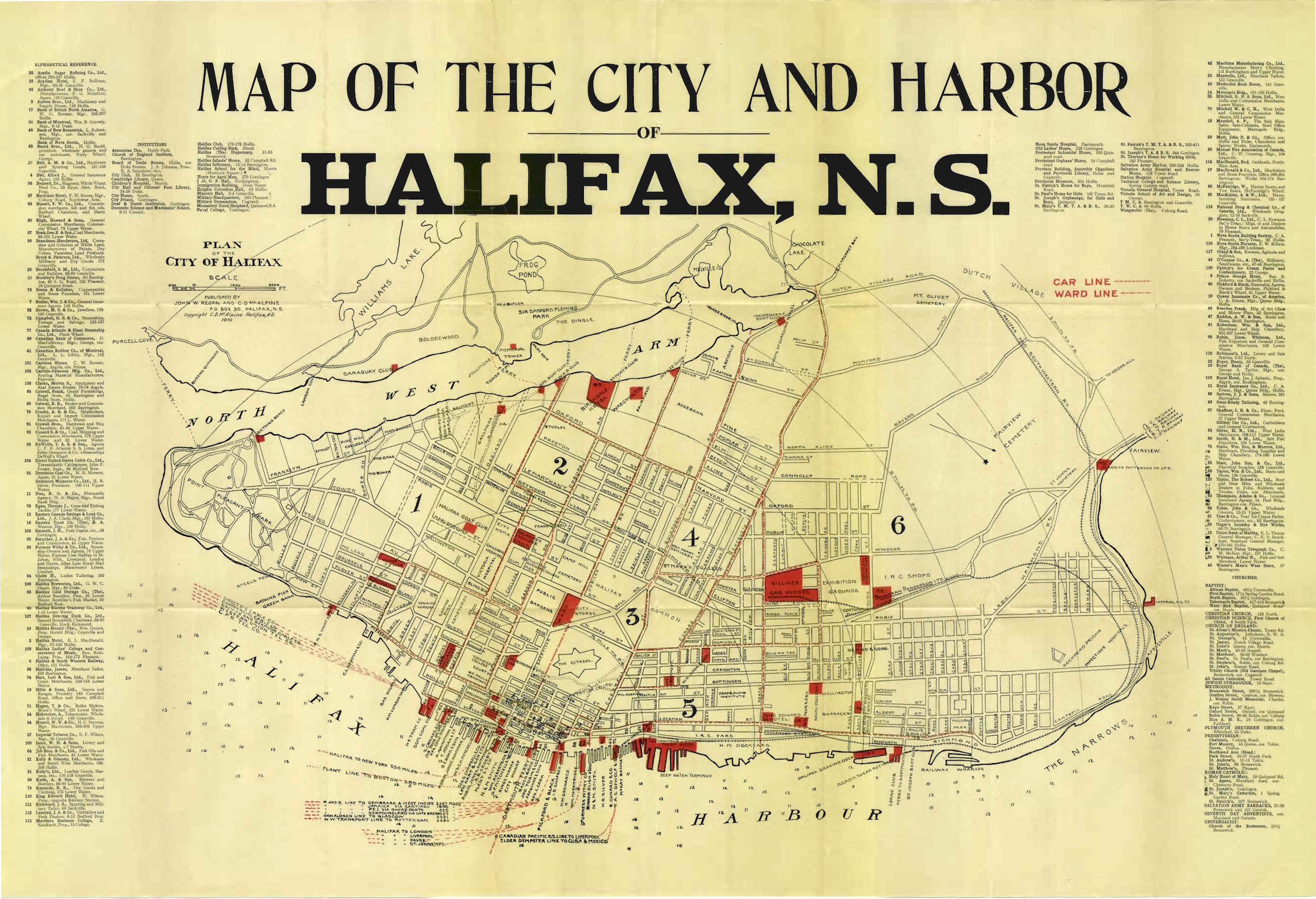 Once Upon a Tram The Halifax Street Railway SkyriseCities