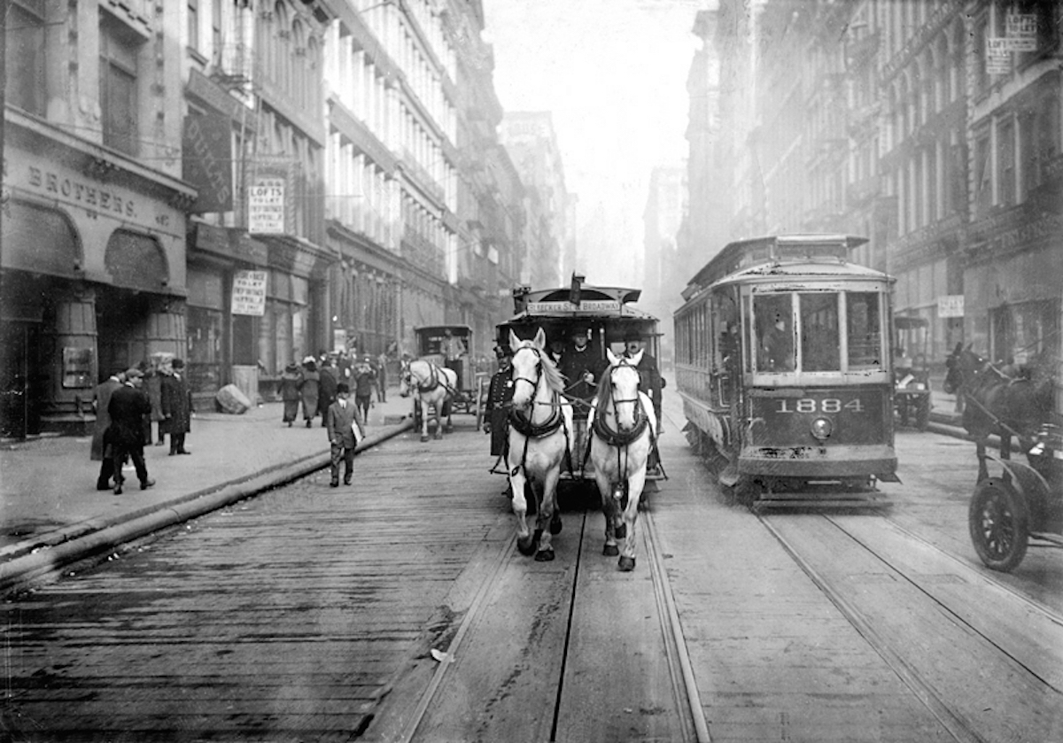 Once Upon a Tram: A Century of Trolley Dodging in Manhattan