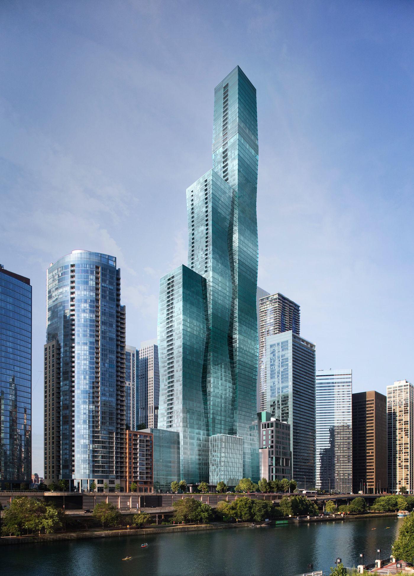 Chicago U0026 39 S Future Third Tallest Building Breaks Ground