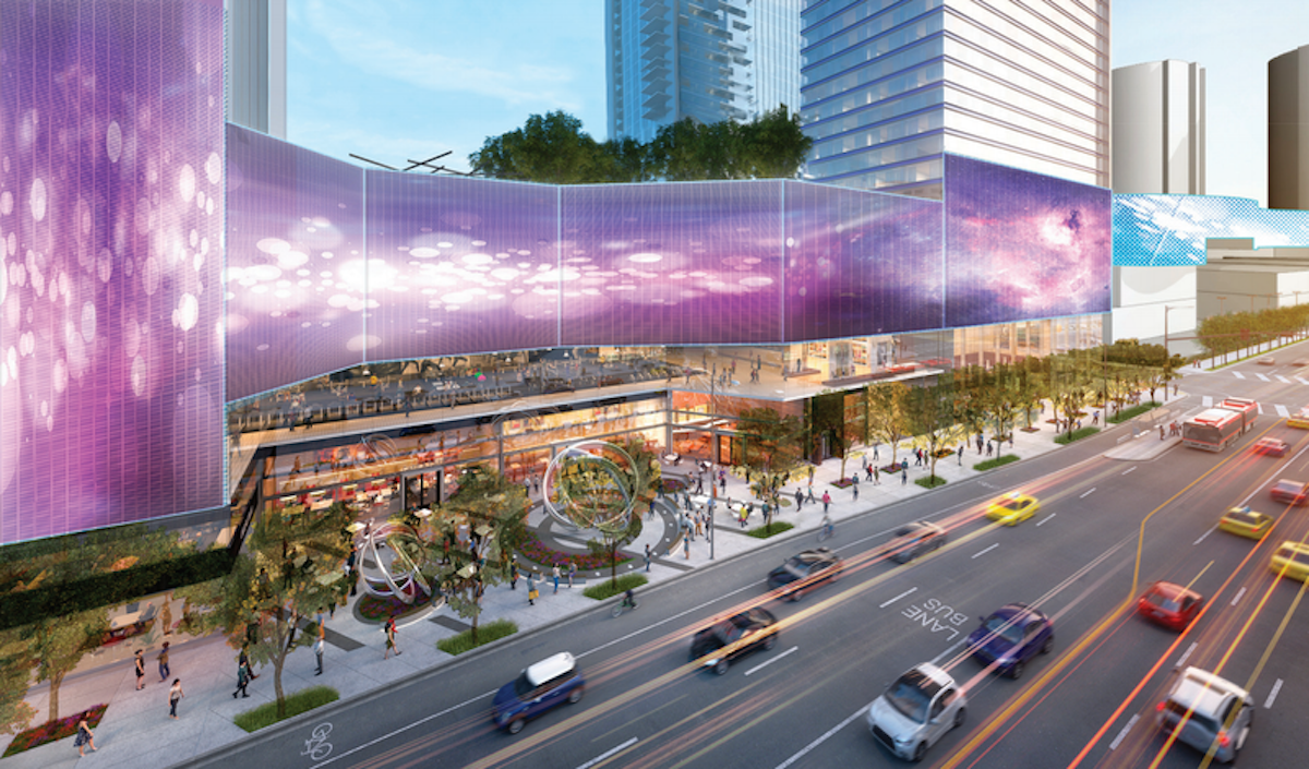 Updated W Hotel Los Angeles Proposal Features Massive Wrap-Around