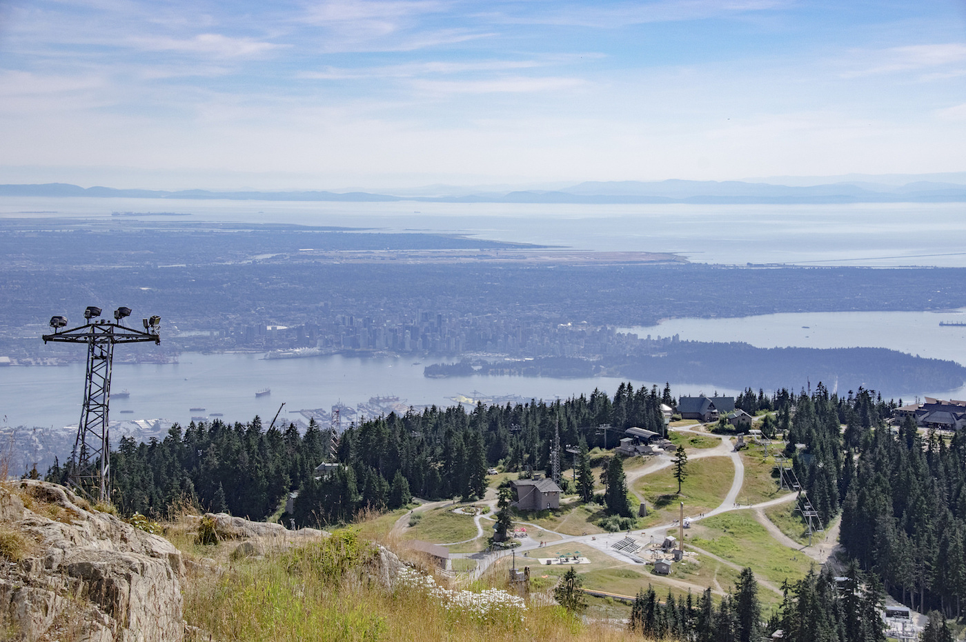 grouse mountain in summer