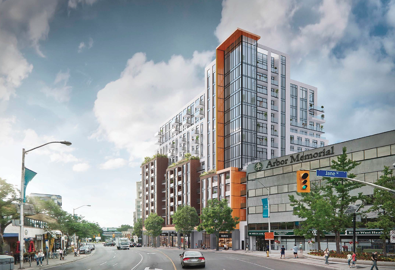 Bloor West Village Mid Rise Appears At Design Review Panel