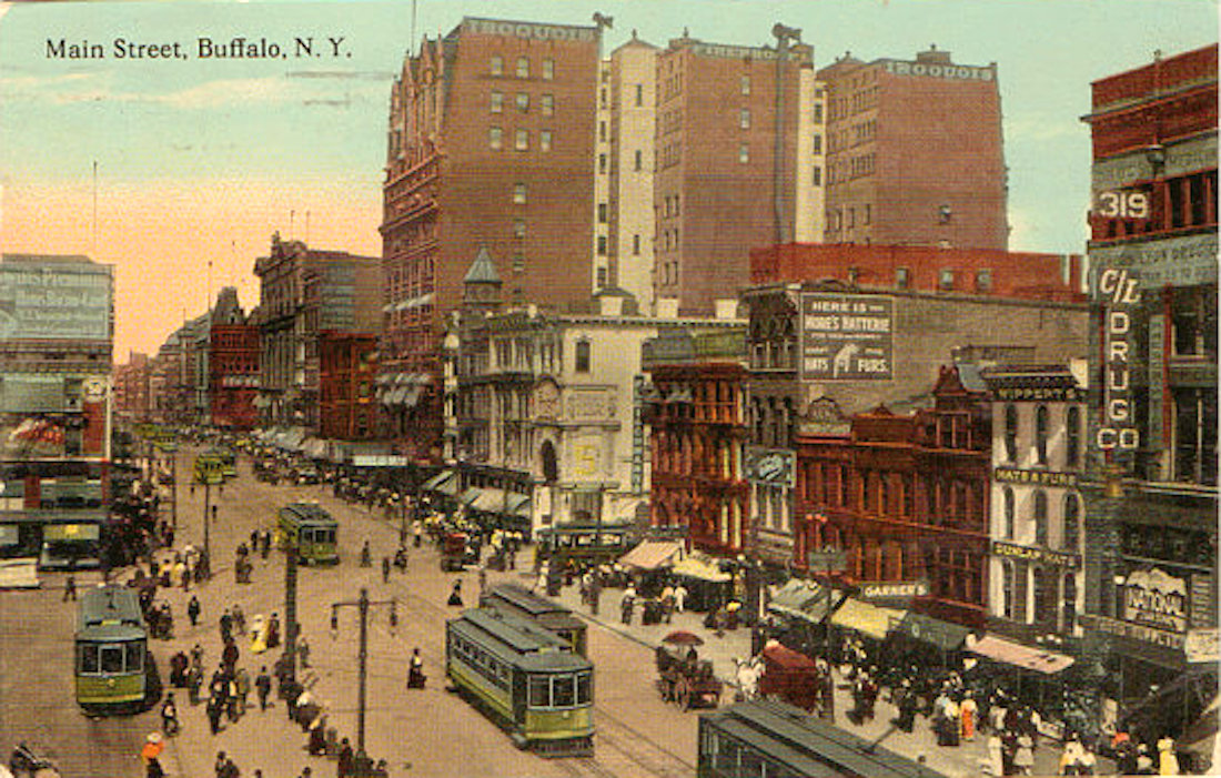 Buffalo S 180 Year Streetcar History Linked To The City S Changing Fortunes Skyrisecities