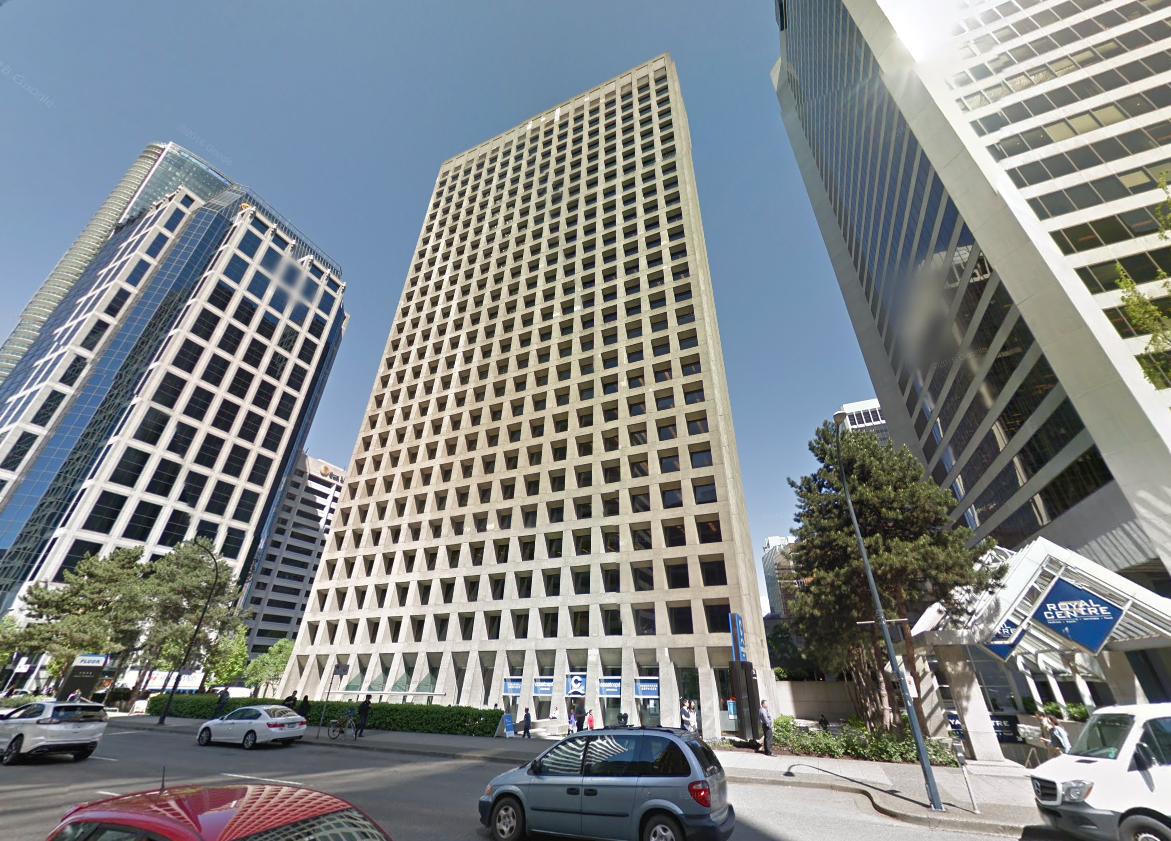 google office vancouver. MacMillan Bloedel Building, Image Retrieved From Google Street View Office Vancouver