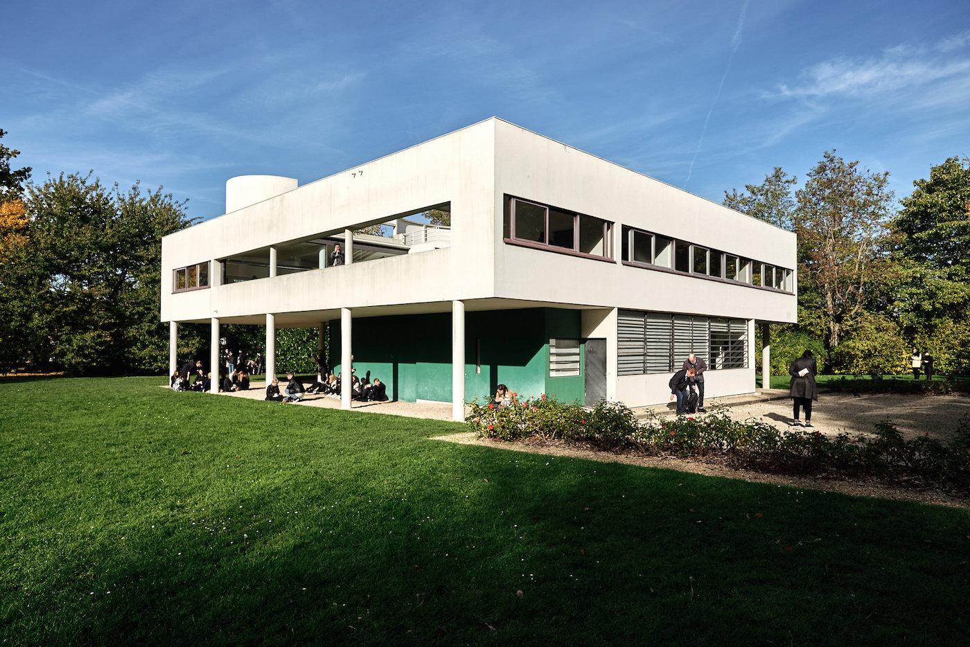 Le Corbusier Les 5 Points le corbusier's influential use of pilotis | skyrisecities
