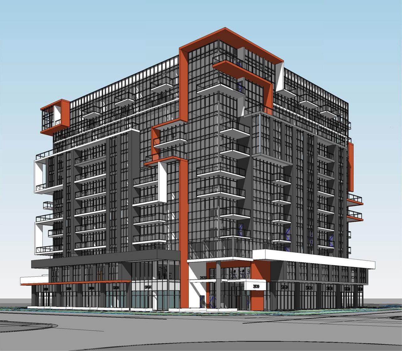 Mid-Rise Mixed Use Condominium Proposed near Jane & Finch | UrbanToronto