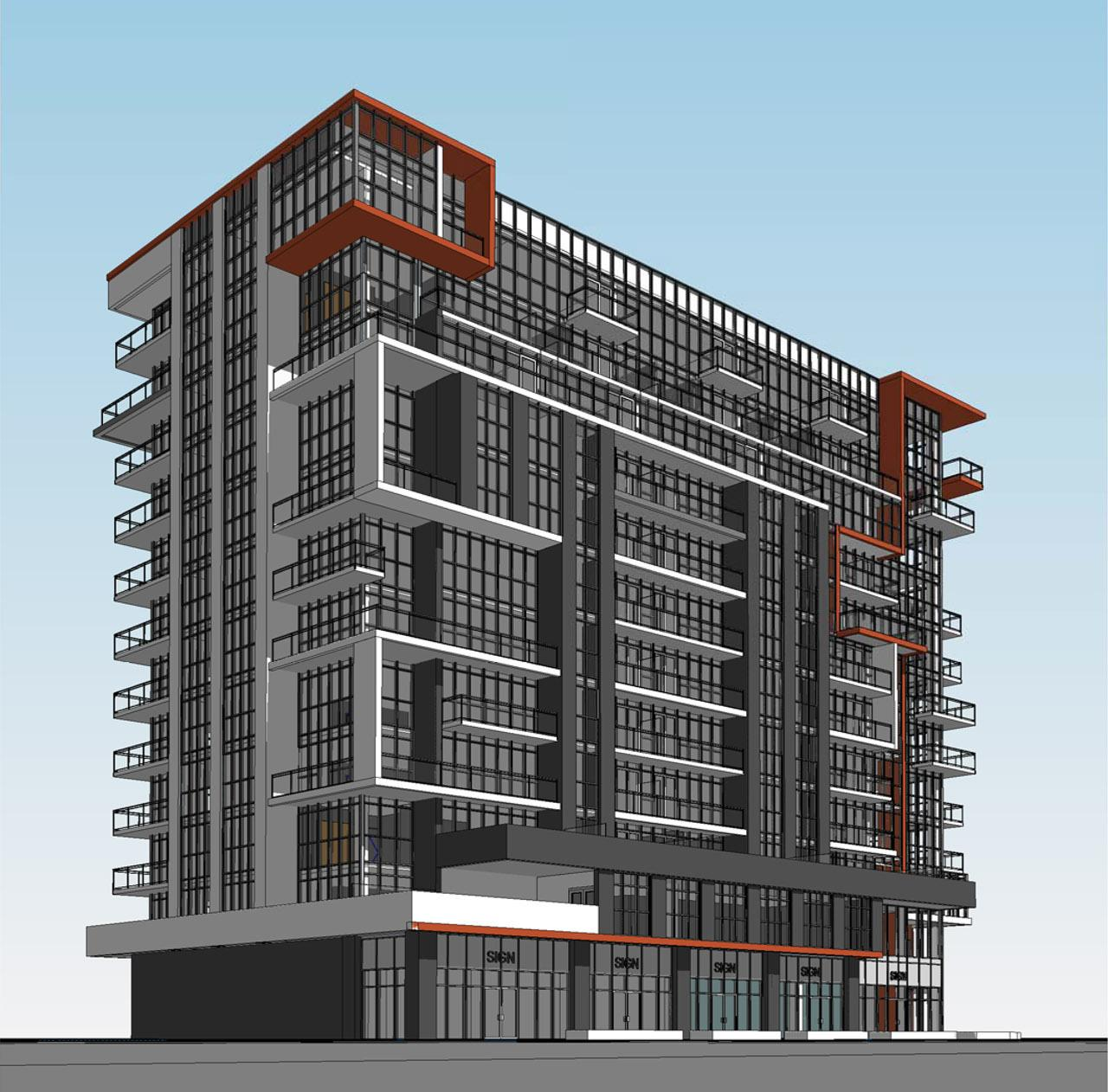 Mid-Rise Mixed Use Condominium Proposed near Jane & Finch | UrbanToronto