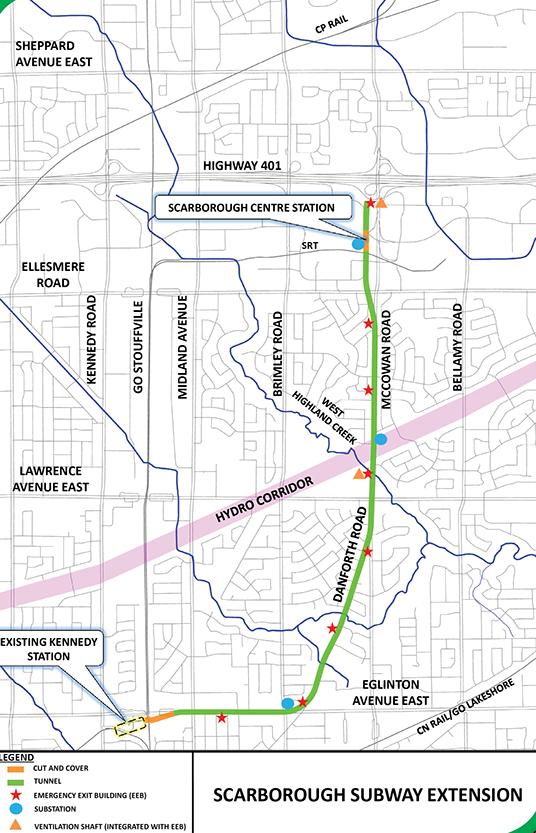 Go Subway Map.Good News Bad News For Scarborough Transit Urbantoronto