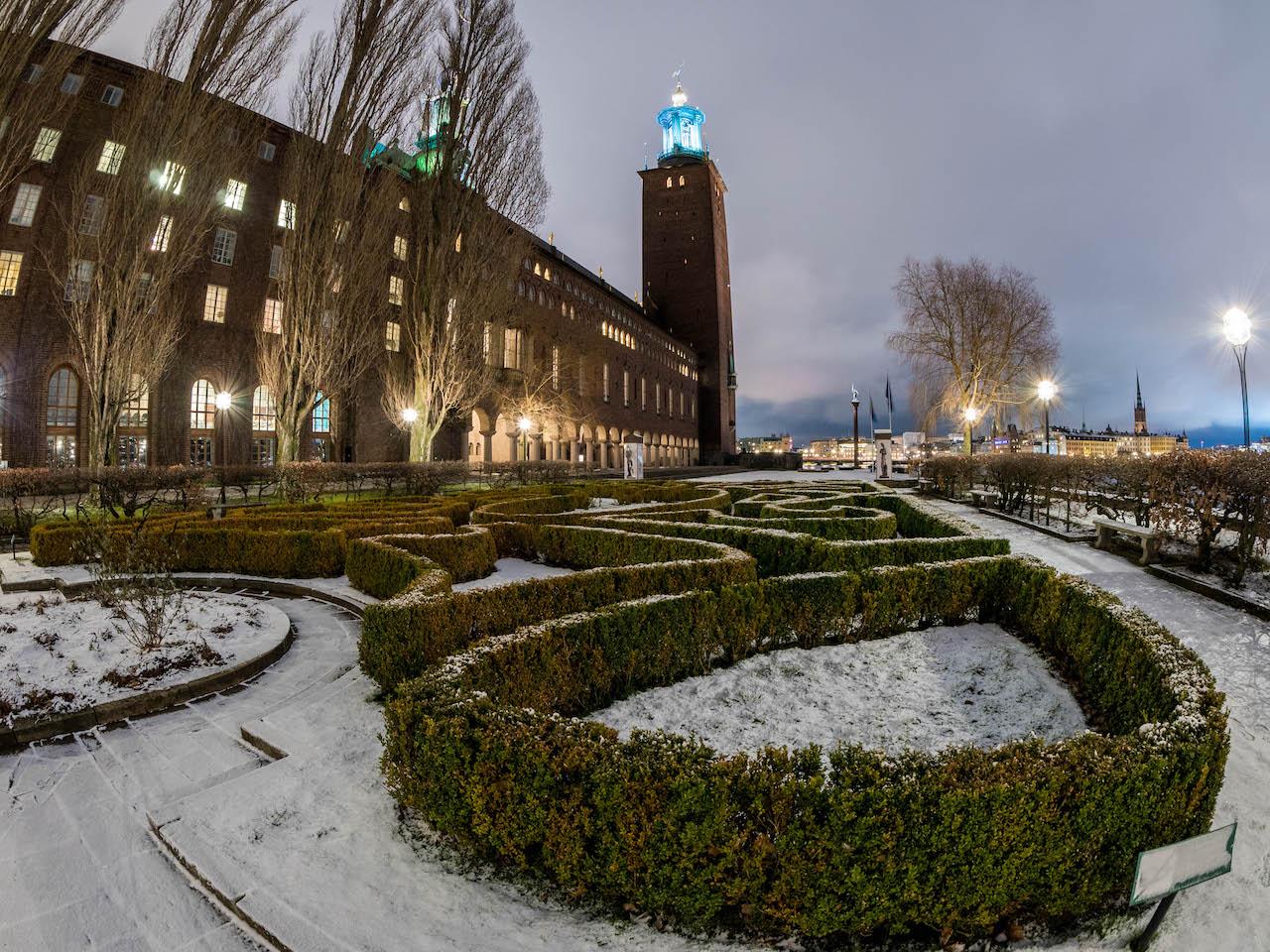 Stockholm City Hall Gardens | SkyriseCities