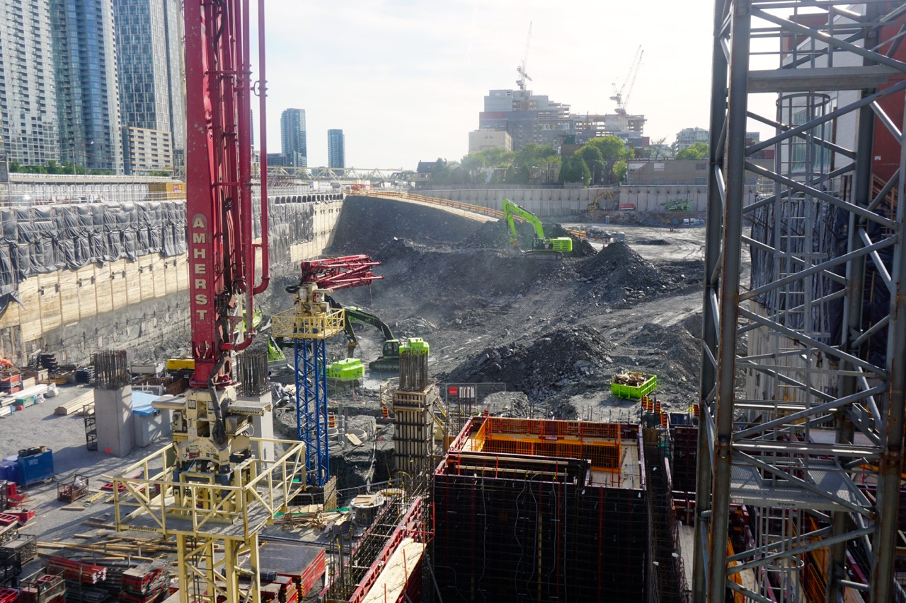 Forming and Excavation Progress at Enormous 'The Well' Site