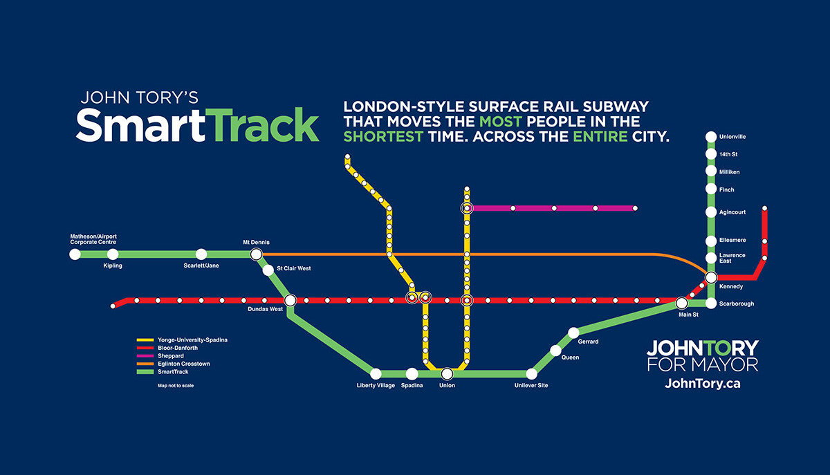 Smart Track Map SmartTrack Advances to the Next Stage, But | UrbanToronto
