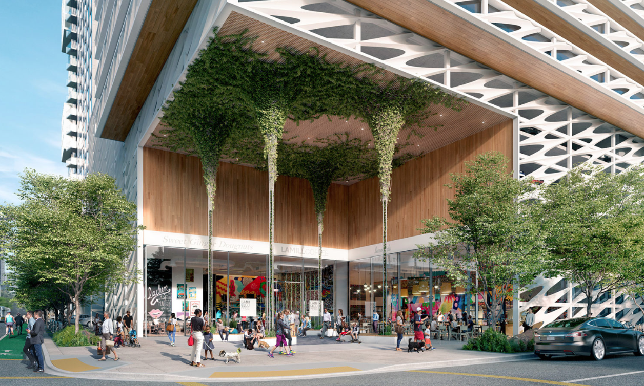 New Renderings Revealed for 1045 South Olive in Los Angeles ...