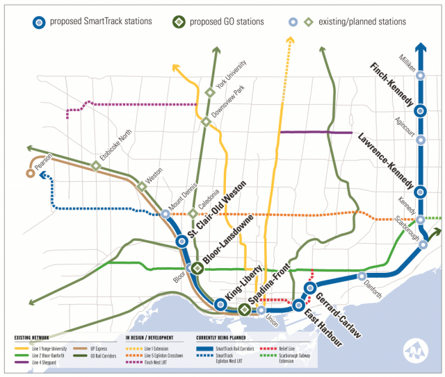 Ttc Subway Map 2018.City Of Toronto Creating Transit Expansion Coordination Office