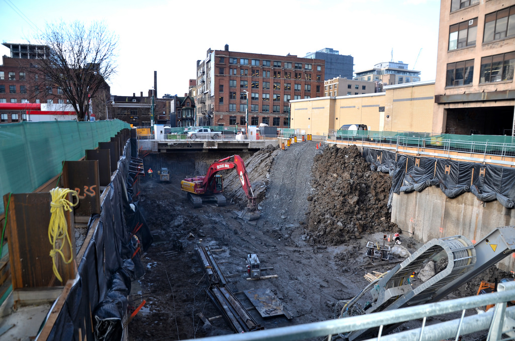 Excavation Deepens for Tricon's 57 Spadina Rental Tower