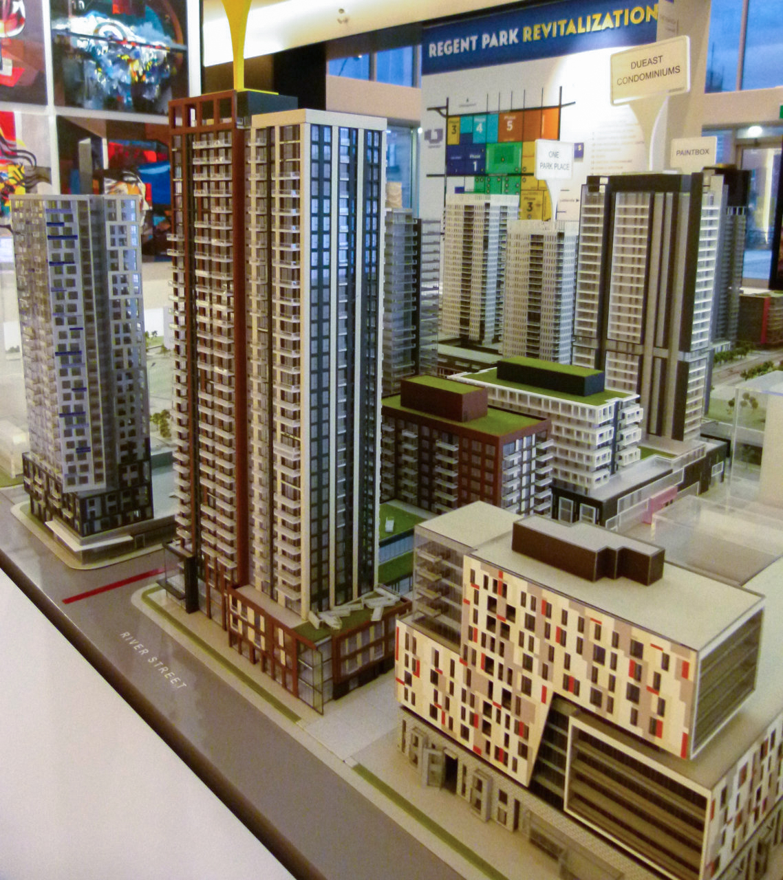 Previewing The Scale Model For Artworks Tower In Regent Park Urbantoronto