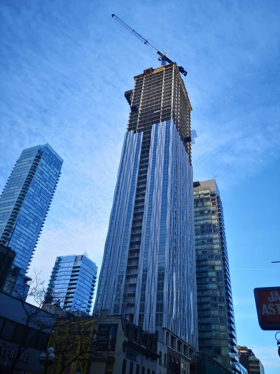1 Yorkville Approaching Final Height as Cladding ...