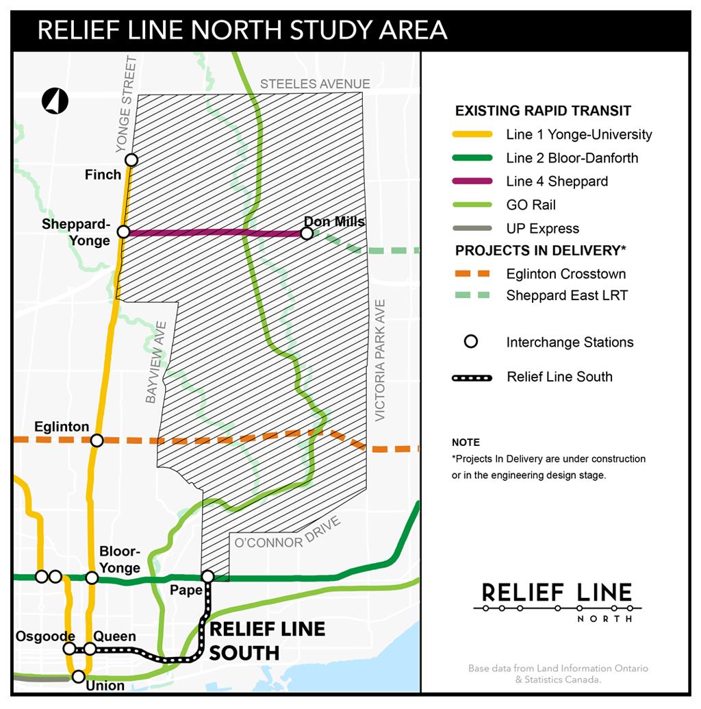 Toronto Subway Map Yonge Line.Ttc Proposes Shortening Timeline For Relief Line Subway Urbantoronto