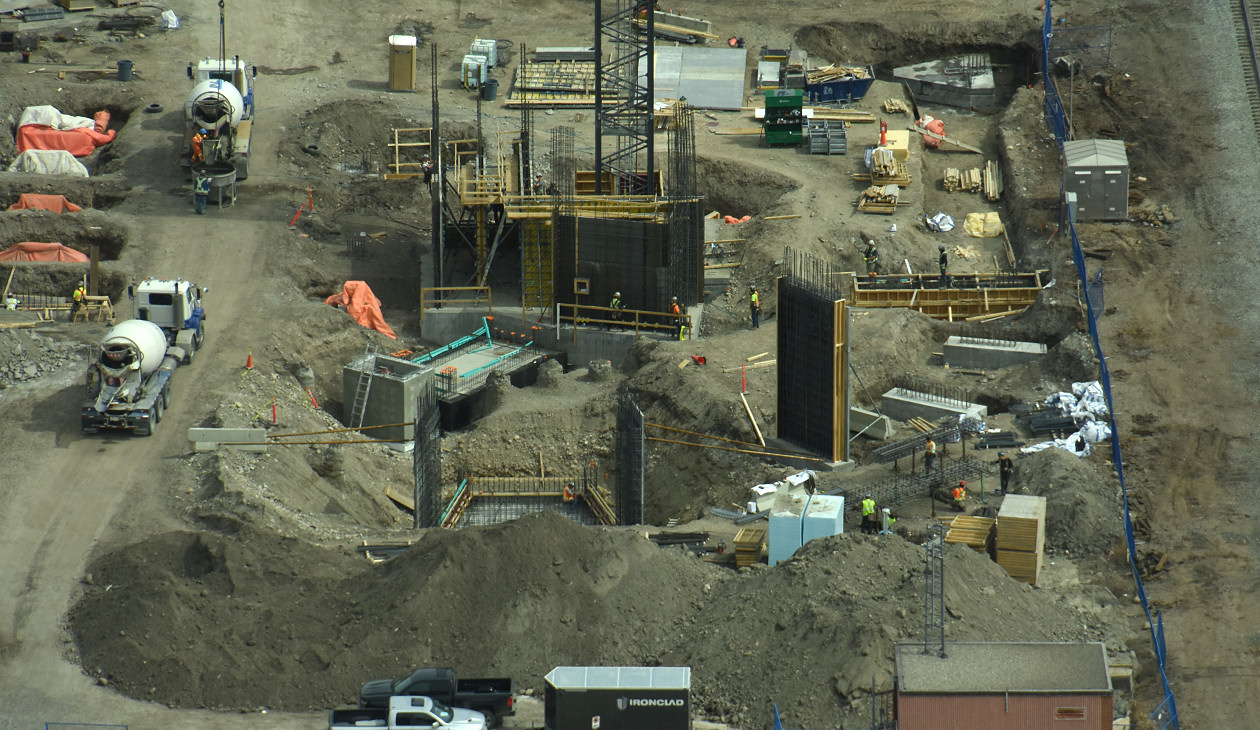 Platform Digs Deep Ahead Of Construction Skyrisecalgary