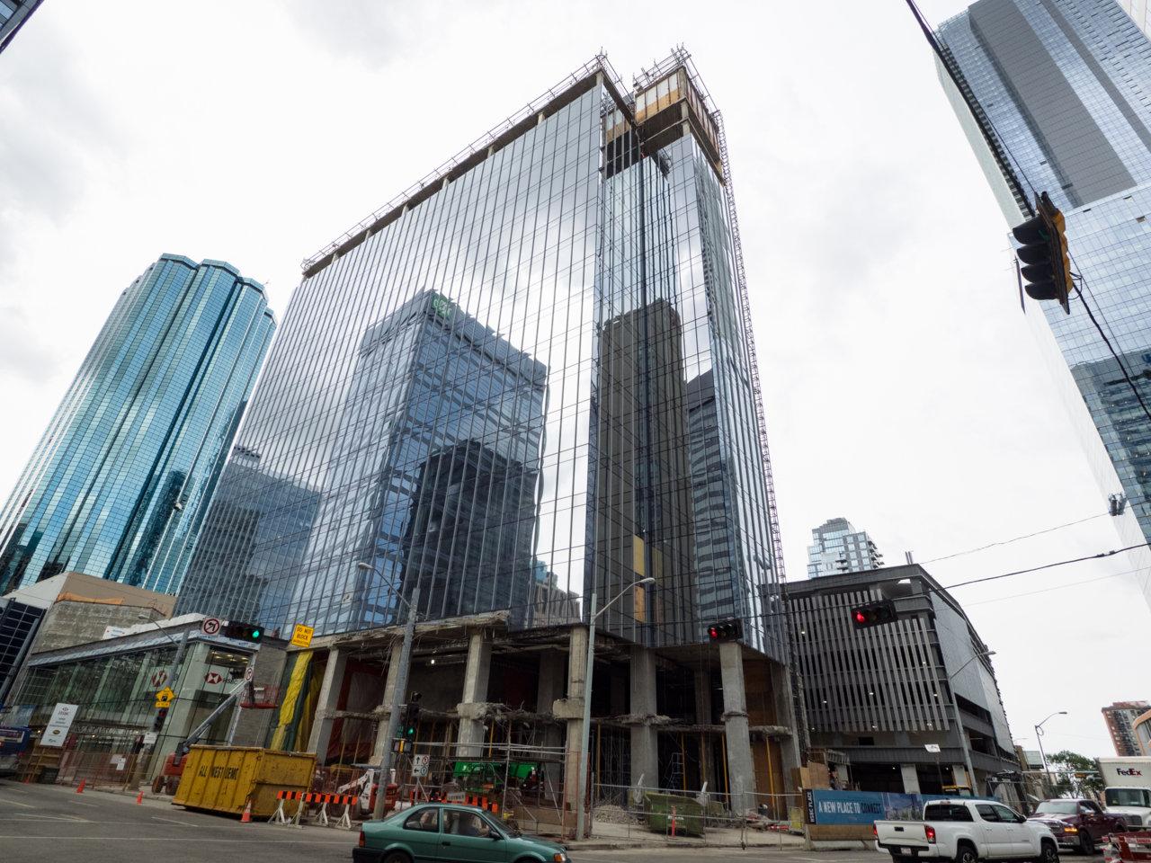 HSBC Bank Place Revitalization Making Steady Progress | SkyriseEdmonton