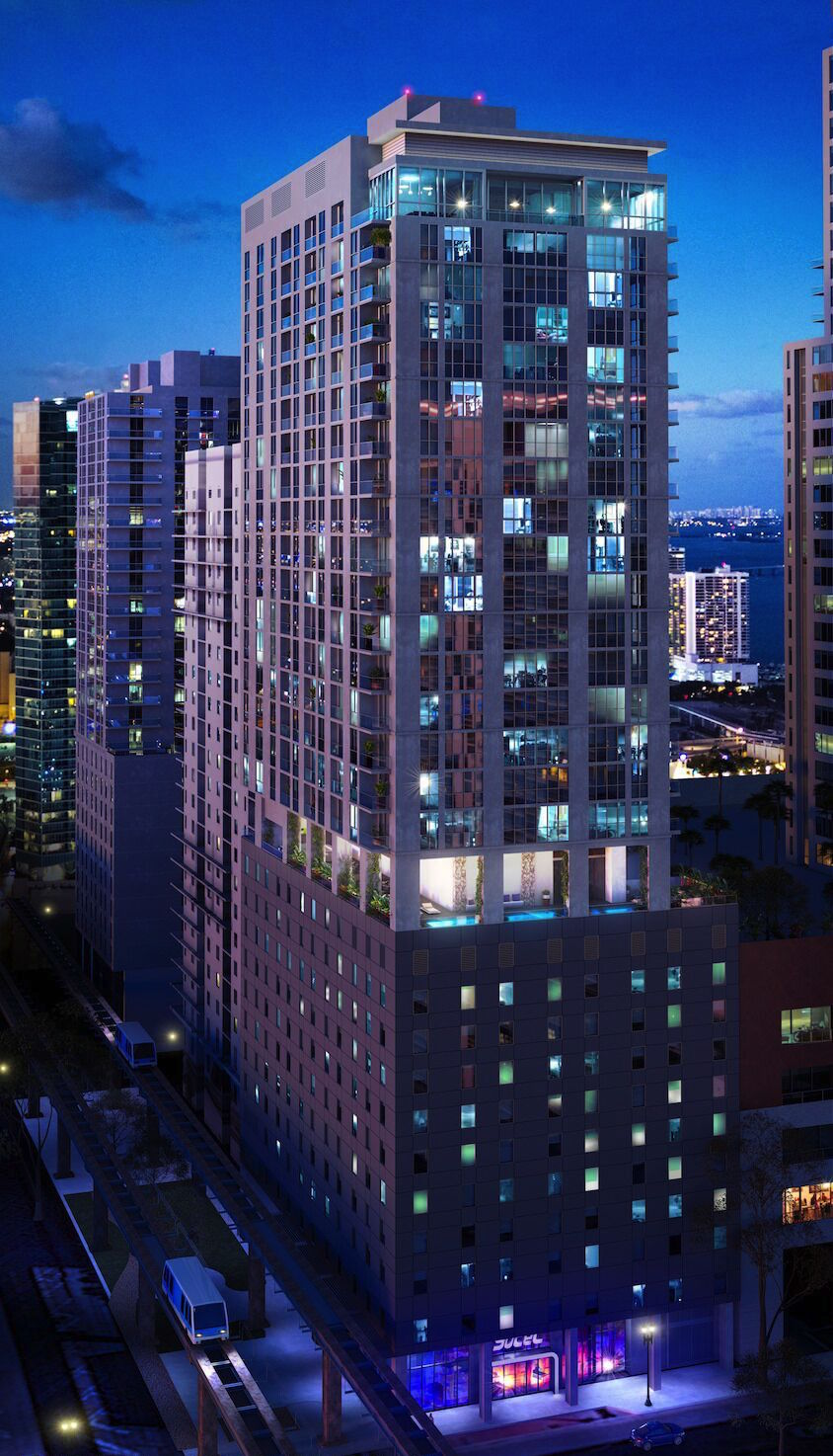 YOTELPAD Miami, AQARAT, Stantec, Aria Development Group