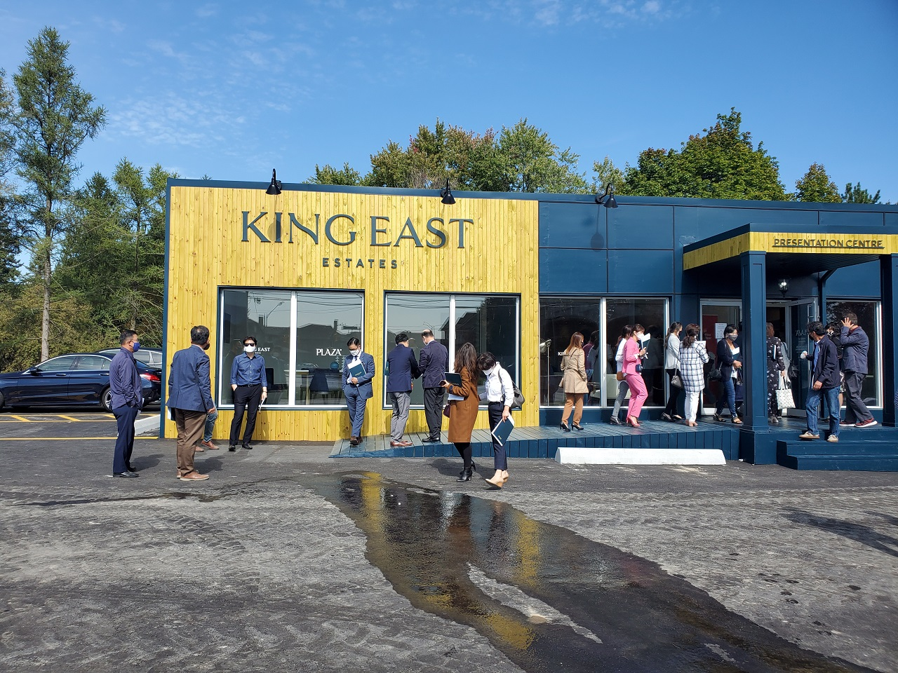 Plaza Celebrates Grand Opening for King East Estates | UrbanToronto