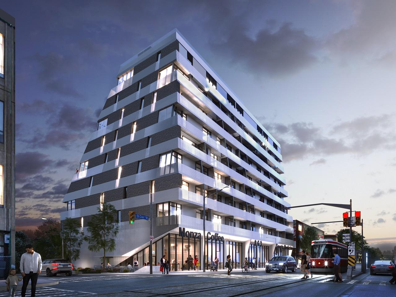 Monza Condos, The Benvenuto Group, Toronto, StudioAC, +VG Architects • The Ventin Group
