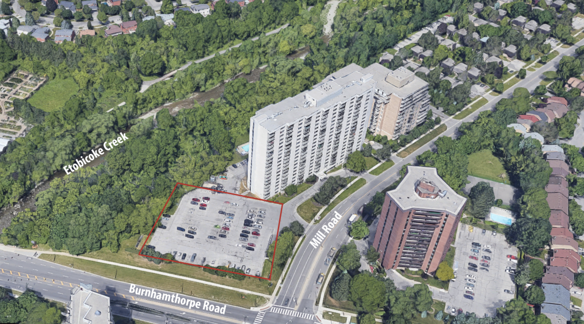 340 Mill Road, Etobicoke, designed by Quadrangle Architects for Mohican Holdings.
