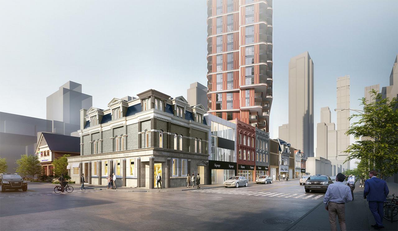 510 Yonge Street, 2316160 Ontario Inc. Quadrangle Architects, Toronto