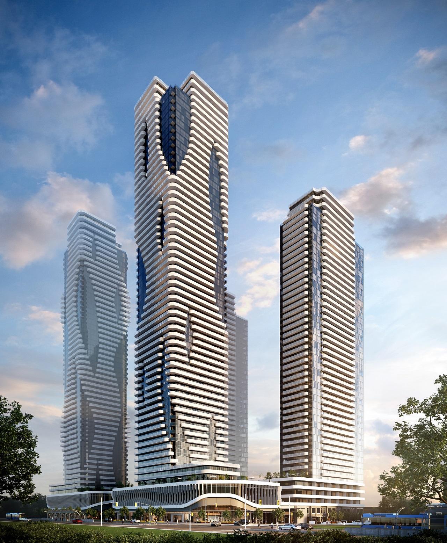 Festival Condominiums, Menkes, QuadReal, IBI Group, Vaughan Metropolitan Centre, VMC