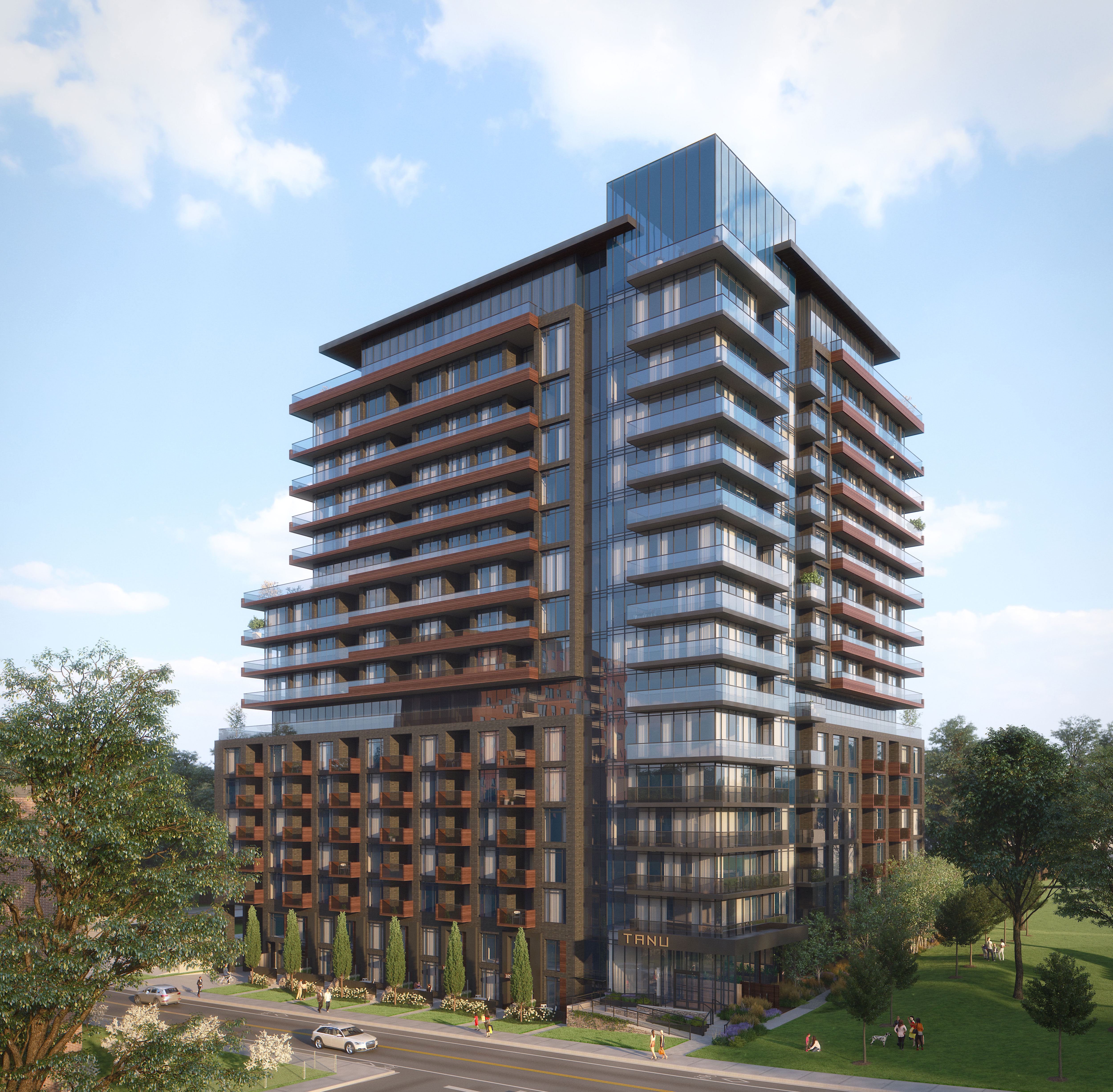 TANU, Edenshaw Developments Limited, IBI Group, Port Credit, Mississauga