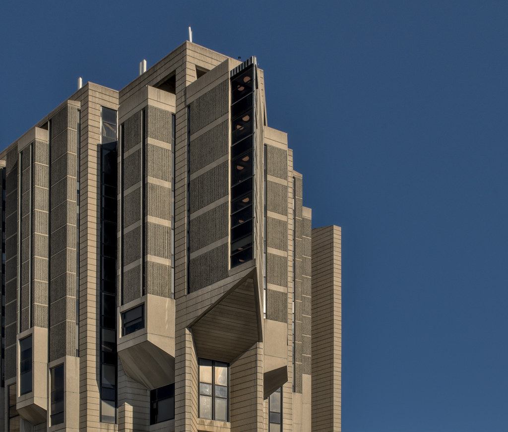 Daily Photo, Toronto, Robarts Library, University of Toronto, brutalism