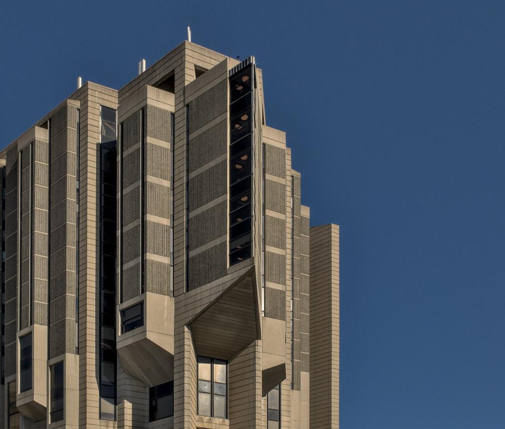 Daily Photo, Toronto, Robarts Library, University of Toronto, brutalism
