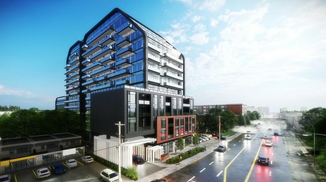 824 Sheppard Avenue West, Almega, Chamberlain Architect, Toronto
