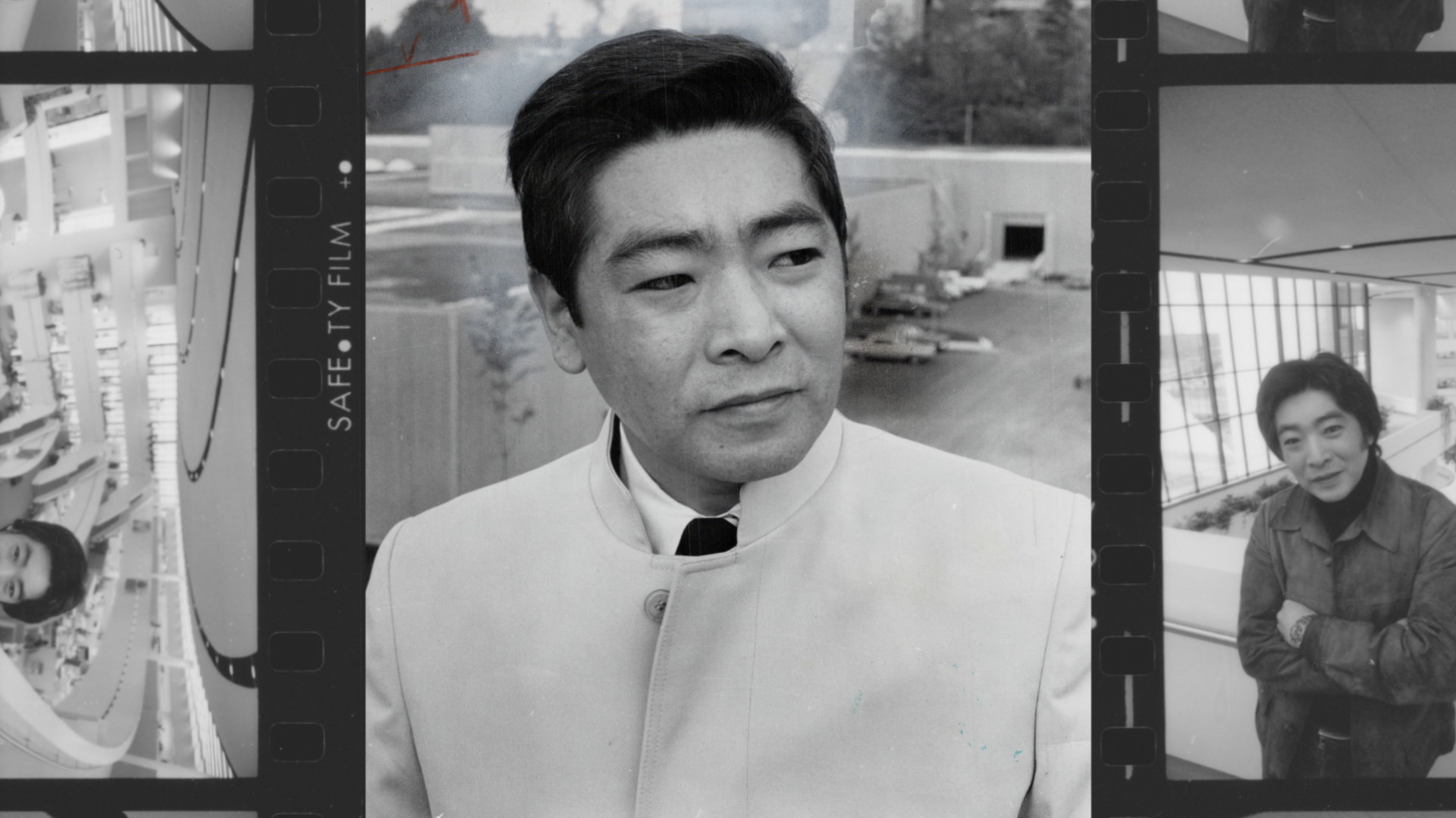 Raymond Moriyama, pictured in stills used in Magical Imperfection, image courtesy of ADFF